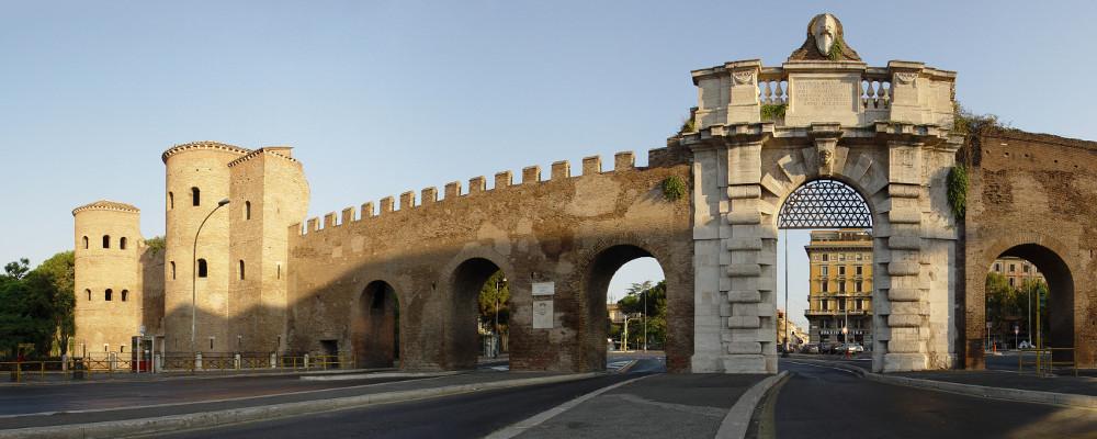 4 Giugno h 10.40 - Passeggiata sulle Mura Aureliane: & visita al Museo