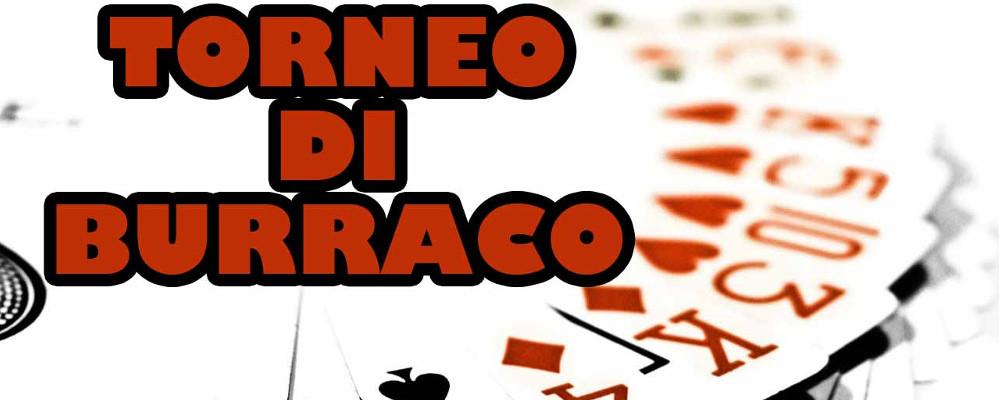 26 Maggio h 20.30 -Torneo di Burraco