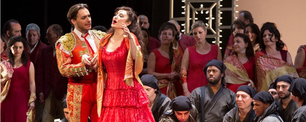 12 Gennaio h 19.00 : OMAGGIO ALL'OPERA LIRICA: CARMEN di G. Bizet