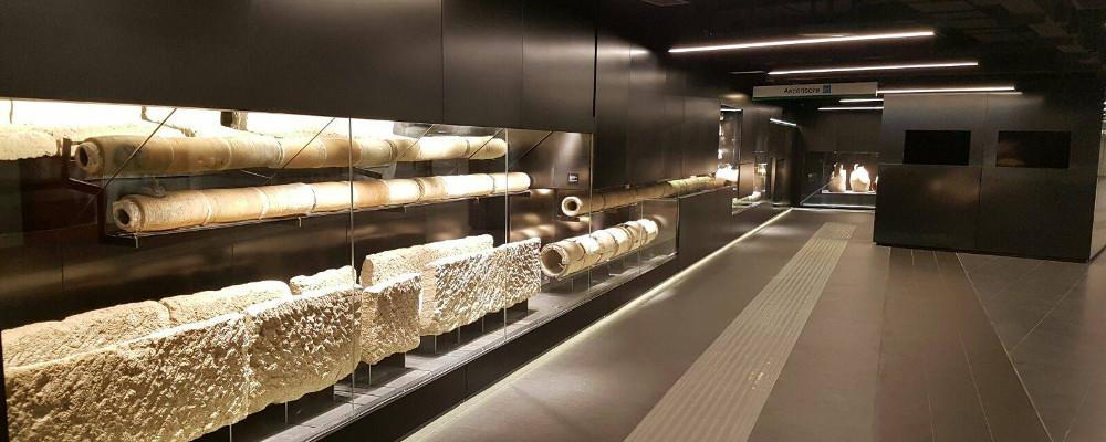 Visita guidata ai reperti archeologici della stazione metro S.Giovanni