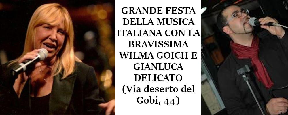 FESTA DELLA MUSICA ITALIANA CON WILMA GOICH