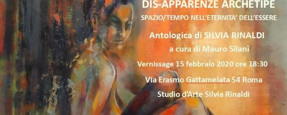 15 Febbraio h 18.30 : VERNISSAGE: DIS-APPARENZE ARCHETIPE DI SILVIA RINALDI